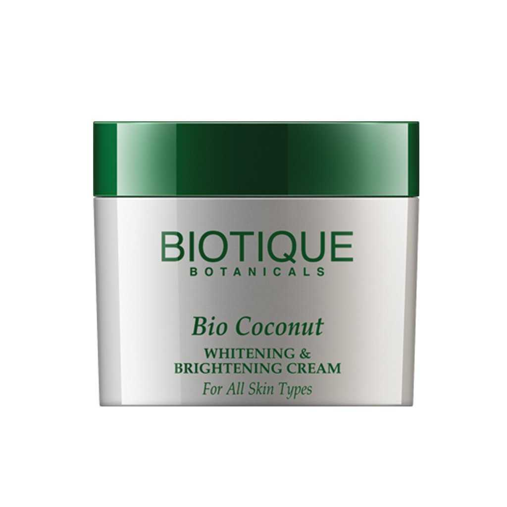 Buy Biotique Bio Coconut Milk Cream Whitening & Brightening Cream Online MY