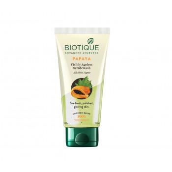 Buy Biotique Bio Papaya Exfoliating Face Wash - 150 ml Online FR