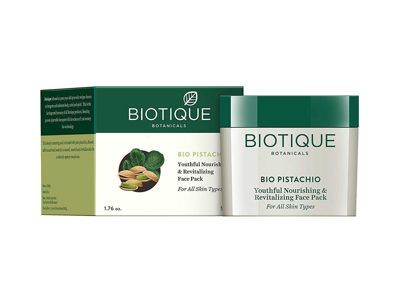 Buy Biotique Bio Pistachio Ageless Nourishing & Revitalizing Face Pack Online MY