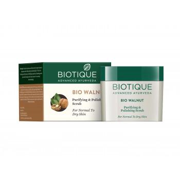 Buy Biotique Bio Walnut Purifying & Polishing Scrub Online FR