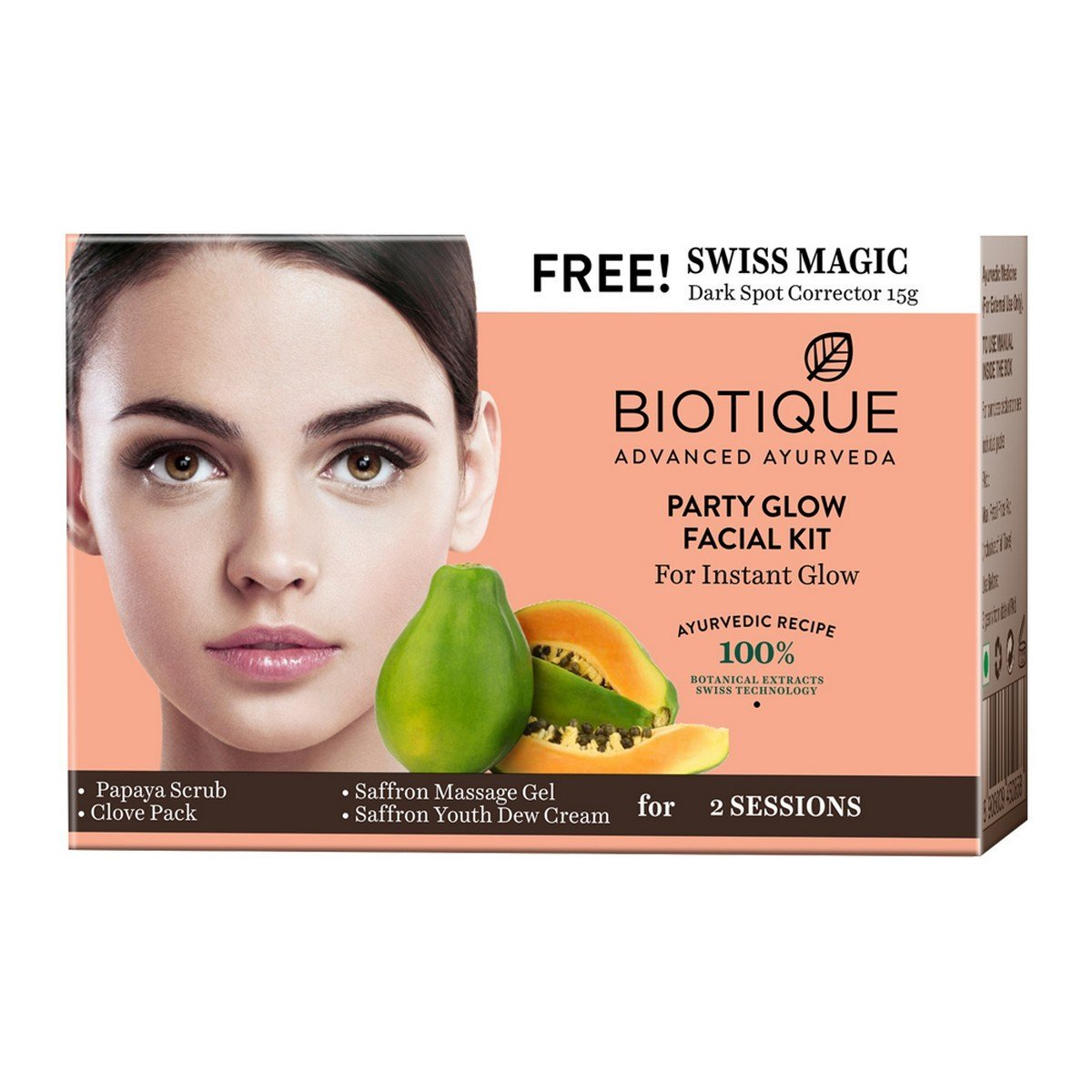 Buy Biotique Party Glow Facial Kit for Instant Glow Online MY