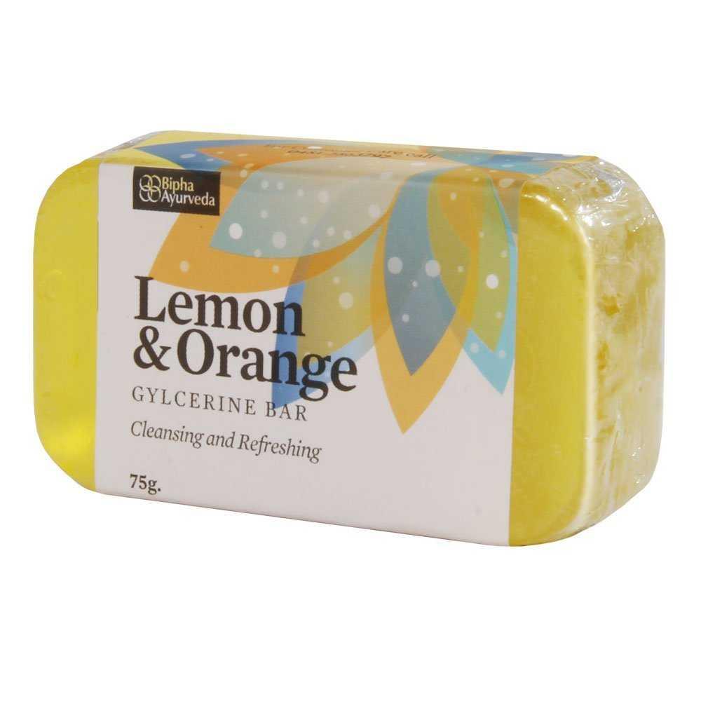 Buy Bipha Ayurveda Lemon & Orange Bar Online FR