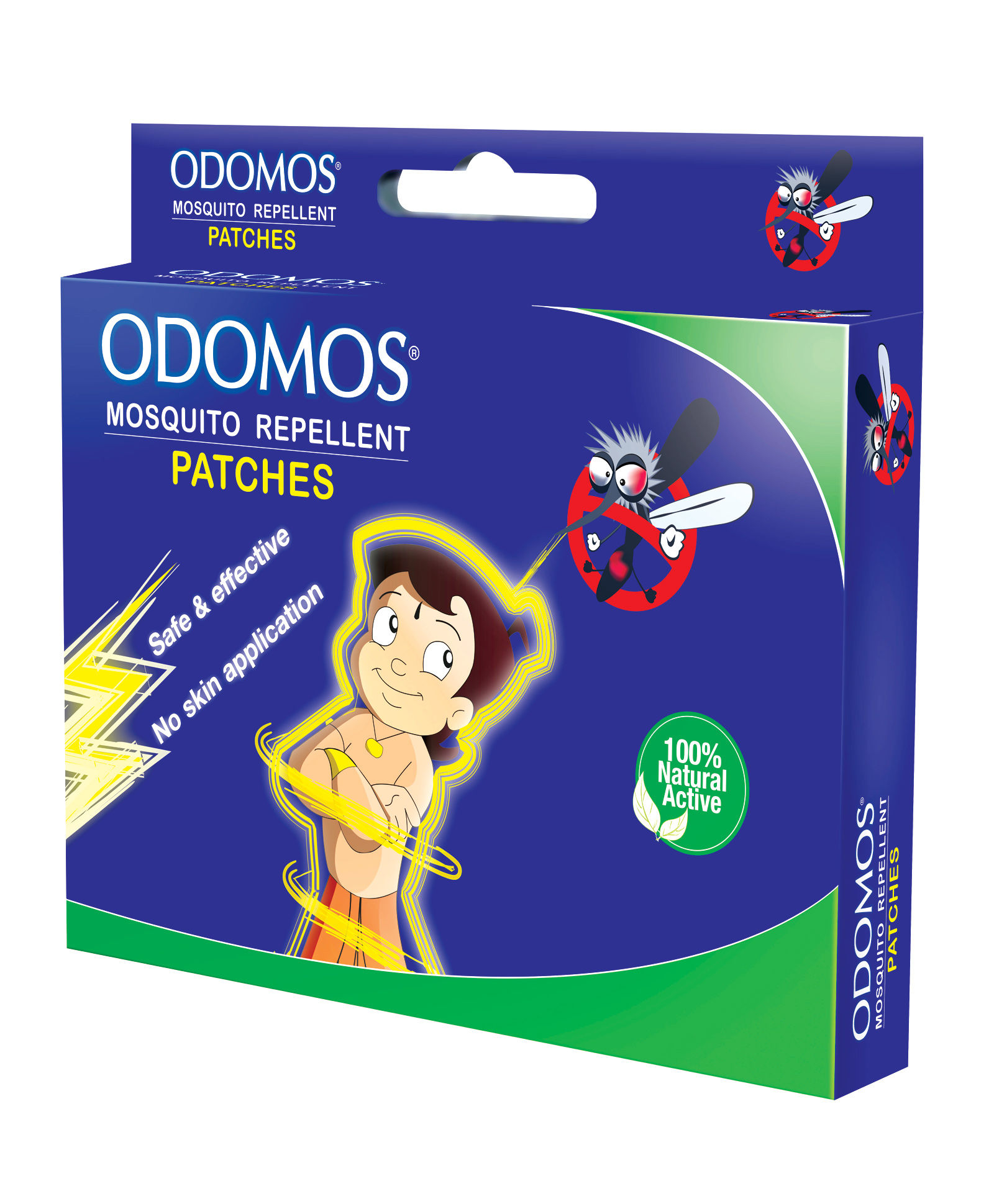 Buy Dabur Odomos Mosquito Repellent Patches Carton Box Online MY