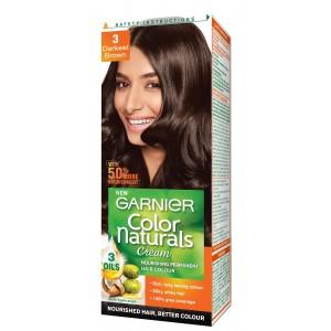 Buy Garnier Color Naturals - 3 Darkest Brown Online FR