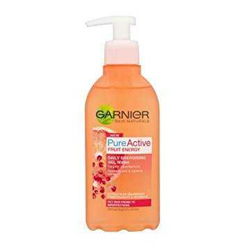 Buy Garnier Pure Active Fruit Energy Gel Wash Online MY