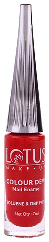 Buy Lotus Herbals Colour Dew Nail Enamel Crimson Red Online FR