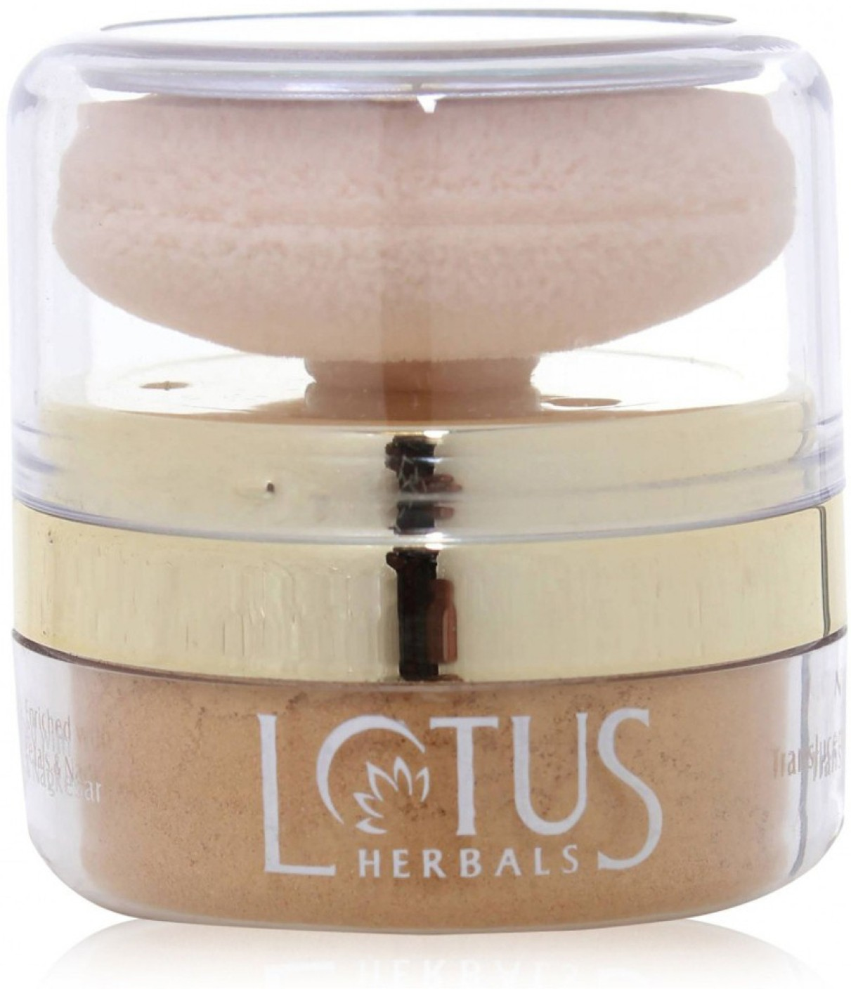 Buy Lotus Herbals Naturalblend Translucent Loose Powder With Auto-puff Spf-15 Sunset Beach  Online FR
