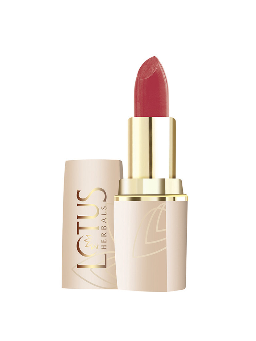 Buy Lotus Herbals Pure Colors Moisturising Lipstick Rose Wood 641 Online MY