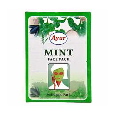 Buy Ayur Herbal Mint Face Pack Online FR