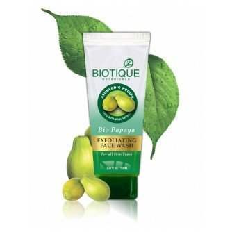 Buy Biotique Papaya Exfoliating Face Wash Online FR