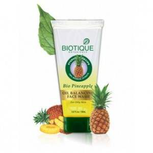 Buy Biotique Pinapple Oil Balancing Face Wash Online FR