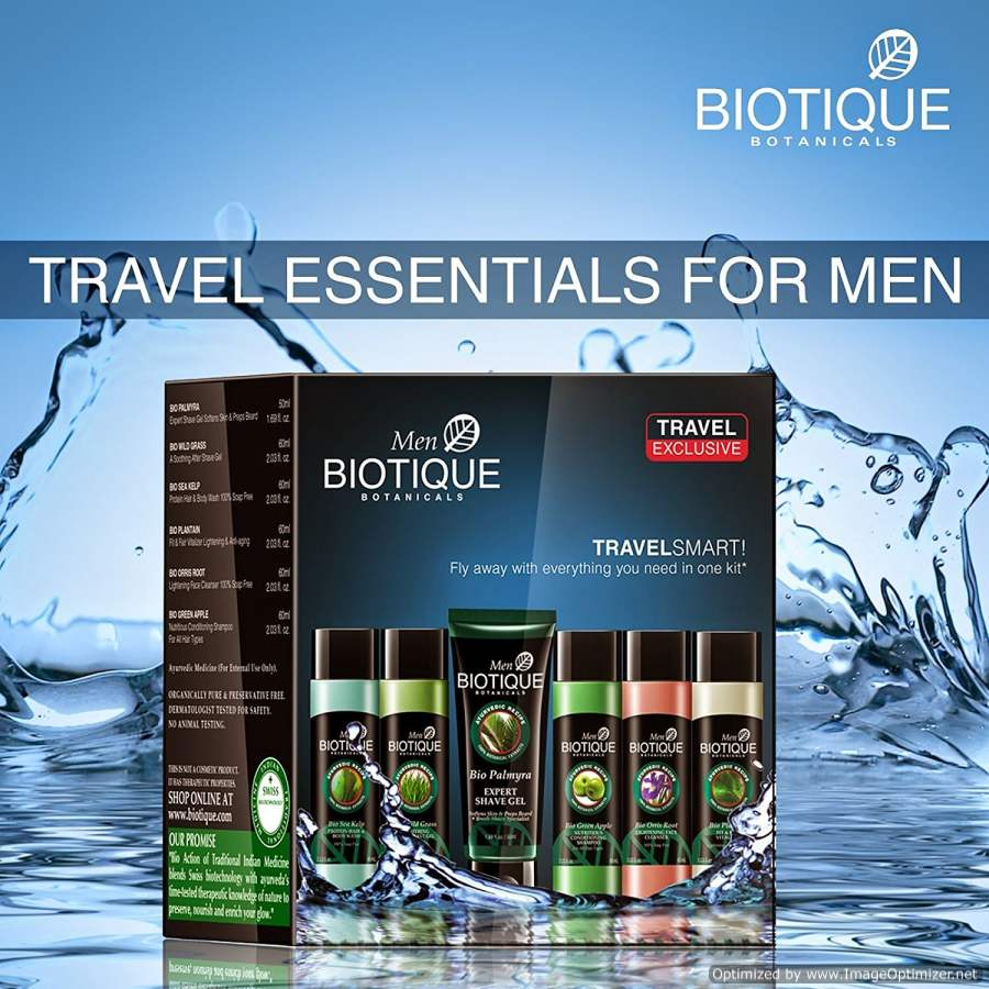 Buy Biotique Botanicals Travel Exclusive Kit for Men Online FR