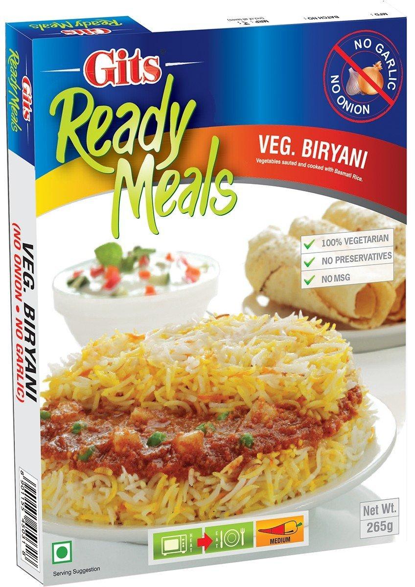 Buy Gits Ready to Eat Veg Biryani, No Onion and Garlic Online MY
