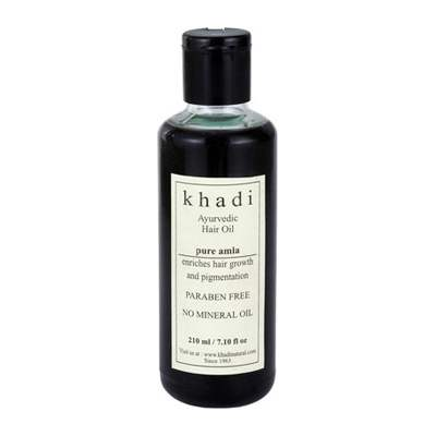 Buy Khadi Herbal Pure Amla Hair Oil ( WITHOUT MINERAL OIL ) Online MY