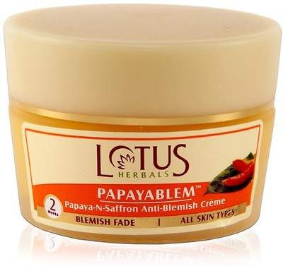 Buy Lotus Herbals Papayablem Papaya-N-Saffron Anti-Blemish Creme Online MY
