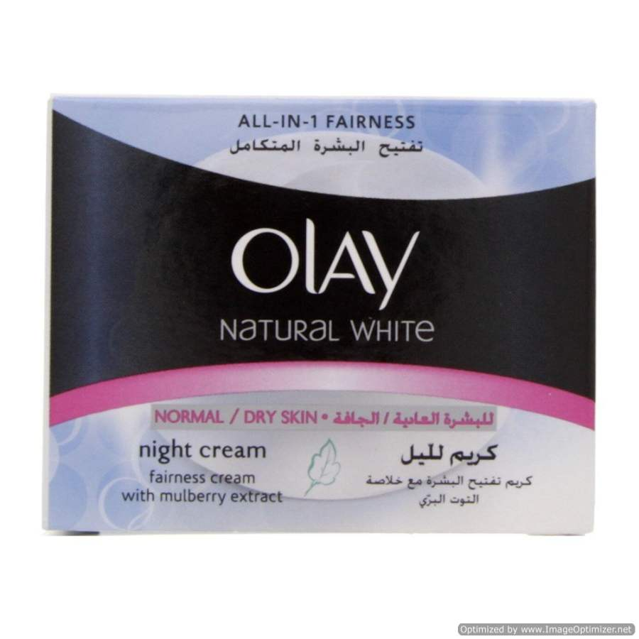 Buy Olay Natural White Night Cream Imported Online FR