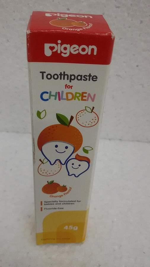 Buy Pigeon Children Orange Toothpaste Online FR