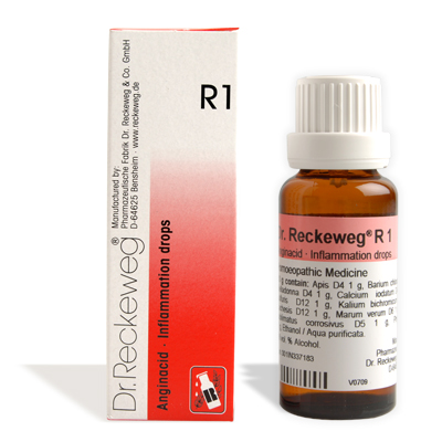 Buy Dr.Reckeweg Homeopathy R1 Inflammation Drops Online MY
