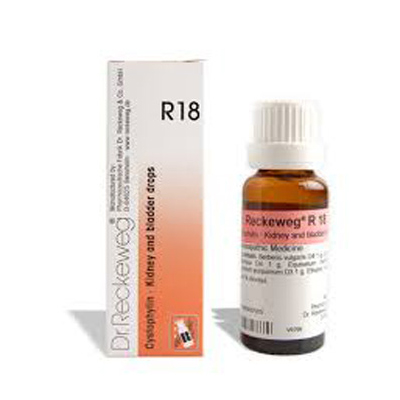 Buy Dr.Reckeweg Homeopathy R18 Kidney & Bladder Drops Online MY