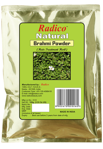 Buy Radico Natural Bhrahmi Powder Online MY