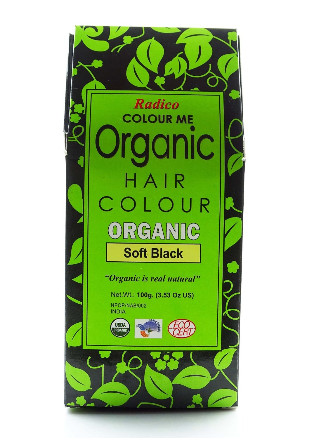 Buy Radico Natural Black Herbal Hair Color Online FR