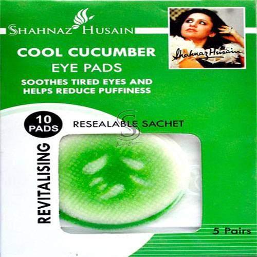 Buy Shahnaz Husain Eye Pads - Revitalizing & Anti Wrinkle - Cool Cucumber Online MY