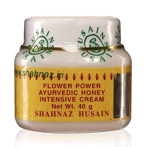 Buy Shahnaz Husain Flower Power Ayurvedic Honey Intensive Cream Online FR