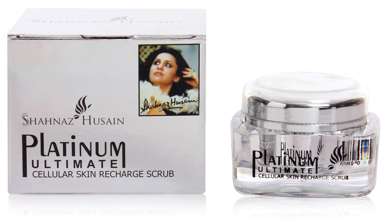 Buy Shahnaz Husain Platinum Ultimate Cellular Skin Recharge Scrub Online FR