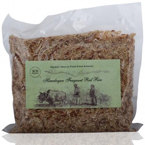 Buy SOS Organics Himalayan Red Rice Online FR