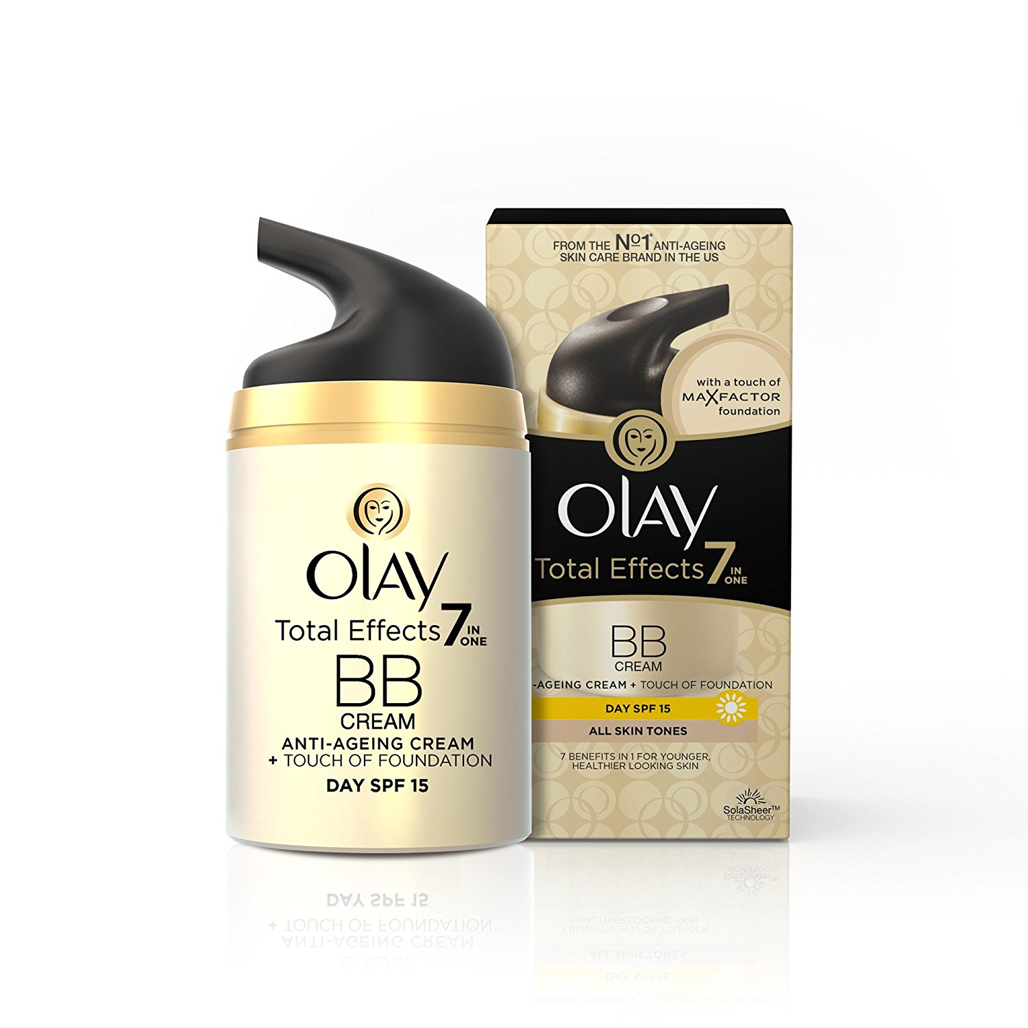Buy Olay Total Effects 7 IN ONE Day Cream Touch of Foundation SPF 15 Online FR