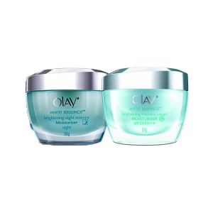 Buy Olay White Radiance Day And Night Brigthening Intensive Regime Online FR