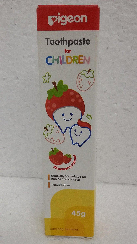 Buy Pigeon Children Toothpaste Strawberry Online MY