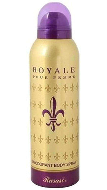 Buy Rasasi Royale Pour Femme Deodorant Spray - For Women Online MY
