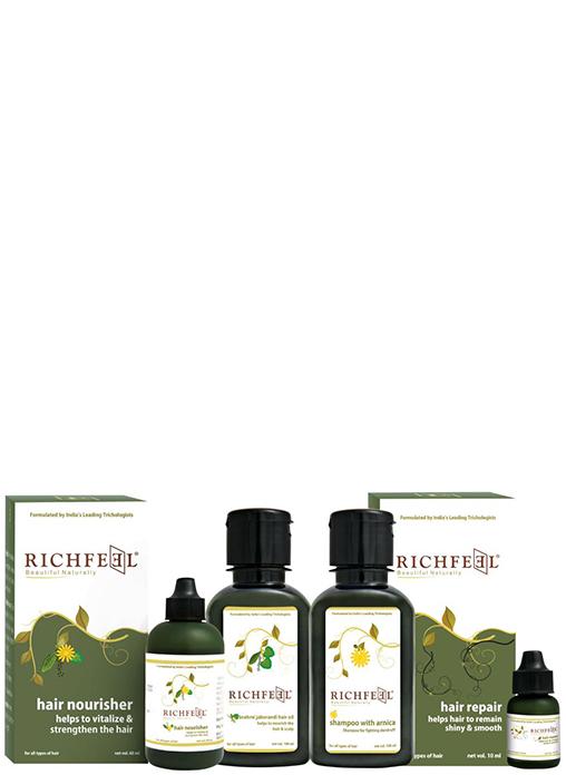 Buy Richfeel Hair Strenghtening Combo Kit Online MY