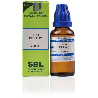 Buy SBL Acid Picricum 200 CH Online FR