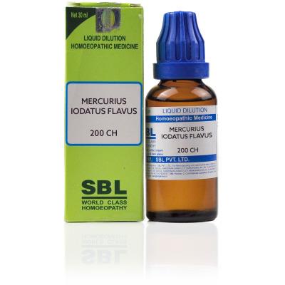 Buy SBL Mercurius Iodatus Flavus 200 CH Online MY