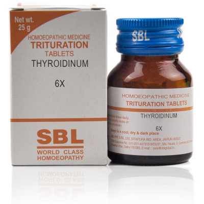 Buy SBL Thyroidinum 6X Online FR