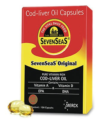 Buy Seacod Cod Liver Oil Capsules Online FR