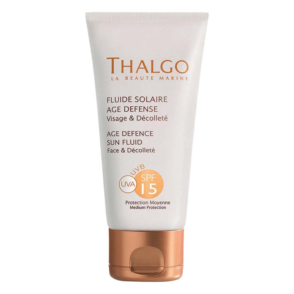 Buy Thalgo age defence sun fluid face spf 15 Online MY