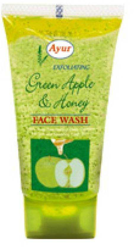 Buy Ayur Herbal Green Apple and Honey Face Wash online United States of America [ USA ]