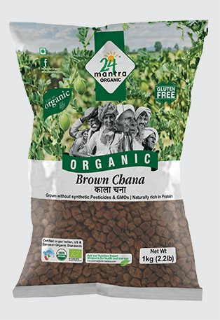 Buy 24 Mantra Organic Brown Channa online United States of America [ USA ]