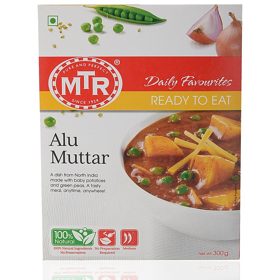 23f9d9c7b3cce1 Buy MTR Ready to Eat Alu Matar online Switzerland   CH