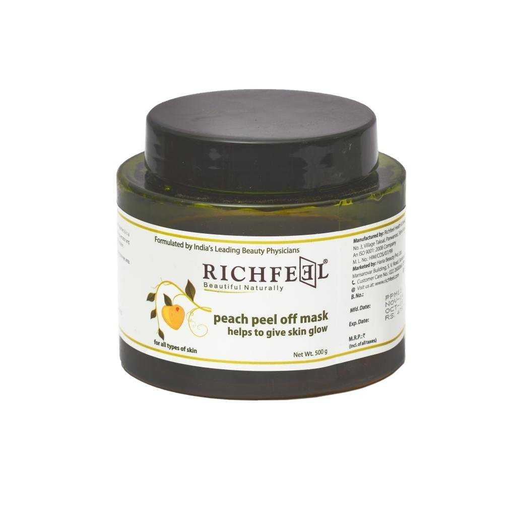 Buy Richfeel Peach Peel Off Mask Online MY