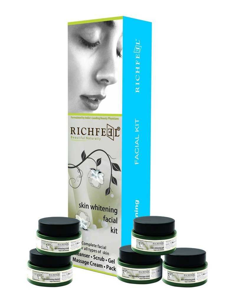 Buy Richfeel Skin Whitening Facial Kit Online MY
