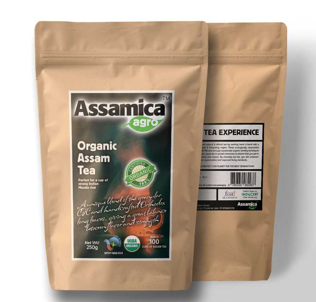 Buy Assamicaagro Organic Assam Tea (Indian Chai) - 250 gms online United States of America [ USA ]
