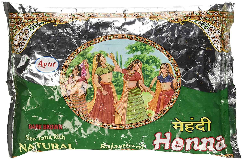 Buy Ayur Rajasthani Henna (Mehandhi) Powder Online MY