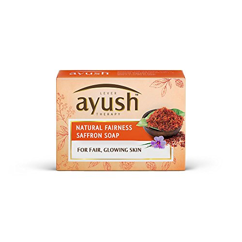 Buy Ayush Natural Fairness Saffron Soap Online MY