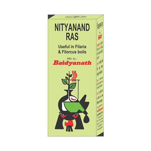 Buy Baidyanath Nityanand Ras (Tamra Yukt) Online MY