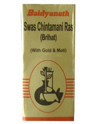 Buy Baidyanath Swas Chintamani Ras (Vr) (S.Y) Online MY