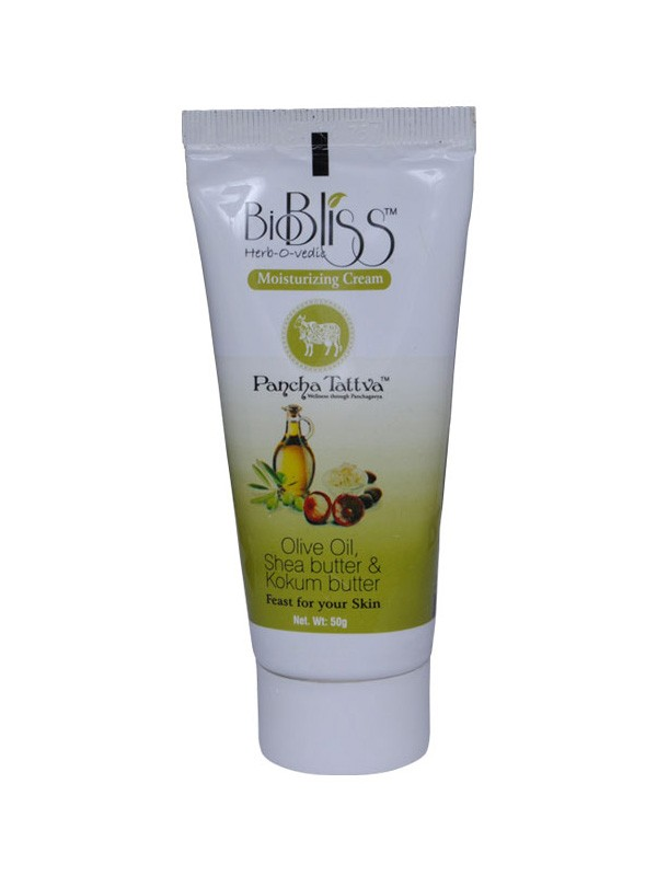 Buy BIOBLISS PANCH TATTVA MOISTURIZING CREAM ( OLIVE OIL & SHEA BUTTER ) Online MY